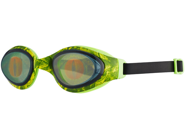 speedo Holowonder Printed Goggle Juniors Lizard/Smoke